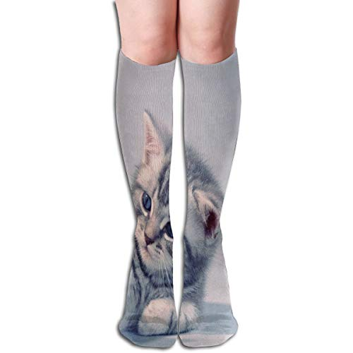 Socks Aggressive Kitten Animals Cat Special Womens Stocking Decor Sock Clearance for Girls