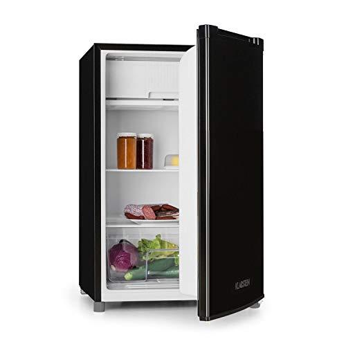 Klarstein Samara • Frigorífico • Nevera • Cajón congelador • Capacidad 120L • Eficiencia de tipo A+ • Cajón extra fresco para verduras • Estantes de vidrio ...