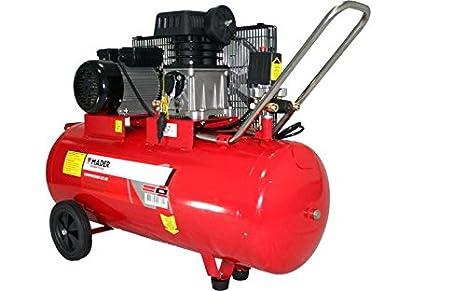 Compresor De Aire Con Correa 100L 3Hp Monofásico: Amazon.es: Bricolaje y herramientas