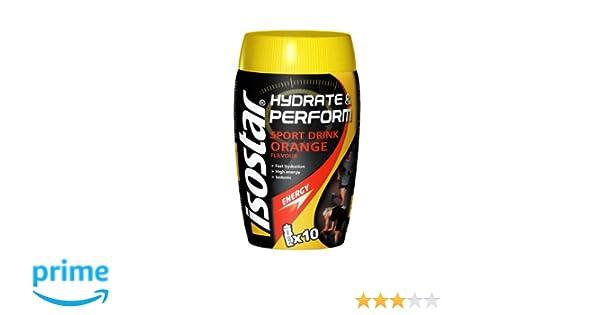Hydrate&Perform Sport Drink Orange Flavour Isostar 400 G: Amazon.es: Alimentación y bebidas