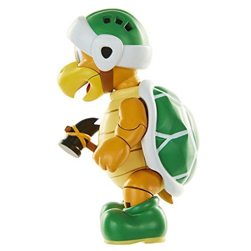 "World Nintendo 4"" Hammer Bros Hammer Toy Figure"