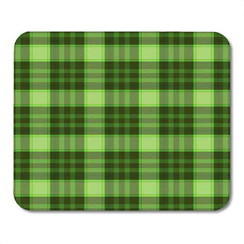 (Semtomn Mouse Pad Black Green Napikn Military Abstract Doily Handkerchief Hankie Hanky Mousepad 9.8