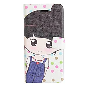 Buy Suspender Trousers Girl PU Leather Full Body Case for iPhone 5/5S
