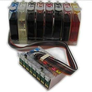 Amazon.com: Sistema continuo de tinta para Epson Stylus ...