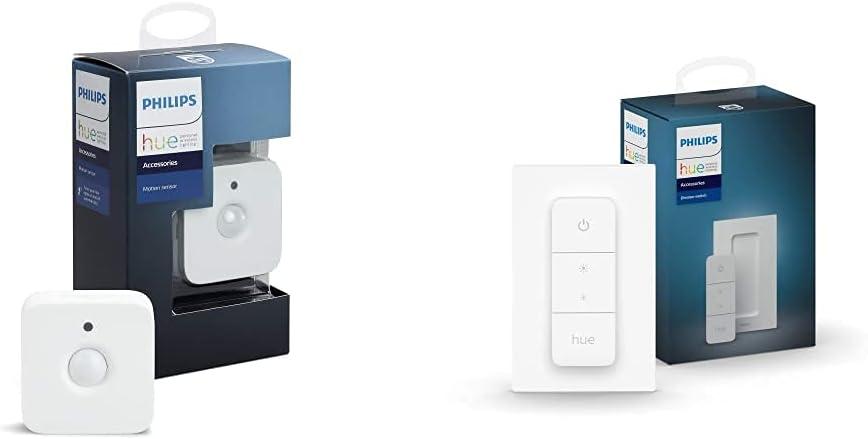 Philips Hue Détecteur de mouvement Motion sensor + Gradateur sans fil intelligent...