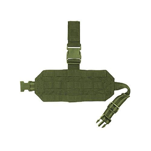 VooDoo Tactical 20-0129004000 Mesh Drop Leg Platform, OD
