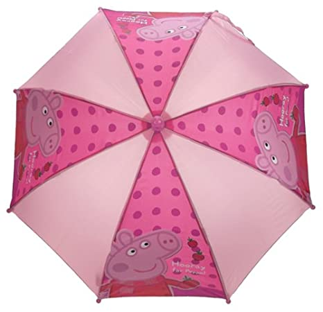Peppa Pig PEPPA005069 - Paraguas infantil, color rosa