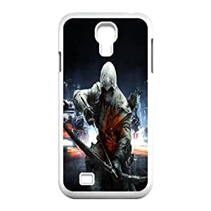 SamSung Galaxy S4 9500 phone cases White Assassin's Creed fashion cell phone cases UTRE3330765