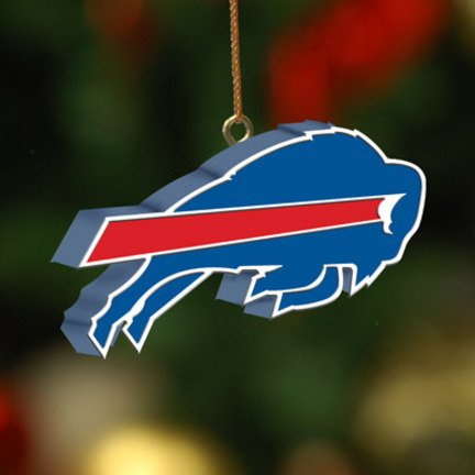 Buffalo Bills Team 3D Logo Ornament NFL Football Fan Shop Sports Team Merchandise