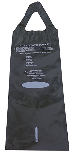 3 Pack of Al's Original Flower Pouch - 5 Slit - Hang on Posts and Railings for Herbs, Vegetables, and Flowers - Includes Exclusive 'Plants Love Water' Bumper Sticker (5 Slit) (Flower Pouch)