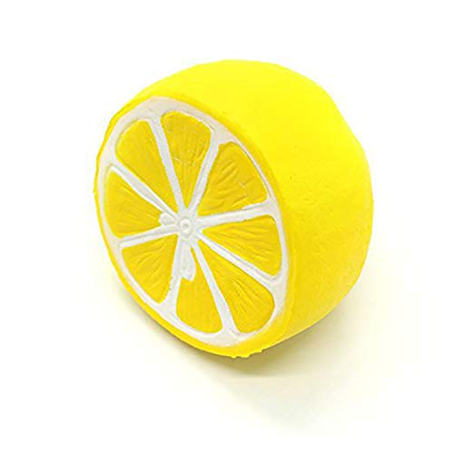 Lemon Squishy, Lovely Toy Stress Relief Toy, Squishy Slow Rising 1pcs, Squishies Toys for Kids and Adults, Decorations Toy Large, Fun Collection