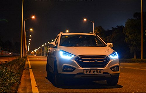 GOWE Car Styling 2010 2011 2012-2015 Head Lamp for Hyundai IX35 Headlights New Tuscon LED Headlight LED DRL Bi Xenon Lens Color Temperature:5000k;Wattage:55w 2