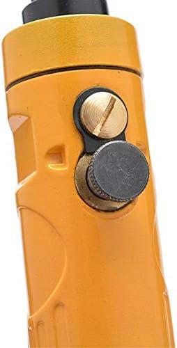 安全で耐久性のある 空気圧タッピングマシン、ハンドヘルドストレート空気圧ドリル、空気圧タッピングドリル (Size : 1.5-10mm)