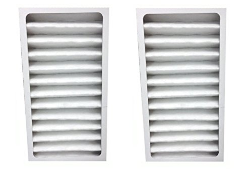 2 Pack HEPA Filter fits Hunter 30963 for Air Purifier 30710, 30711, 30716, 30717 & 30730 by LifeSupplyUSA