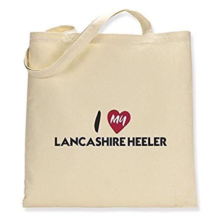 I Love My Lancashire Heeler – Canvas Tote Bag 417gvjqW zL