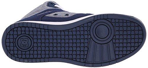 DC Frauen Rebound High TX SE Skate w Skateboard Schuh Abzeichen Blau