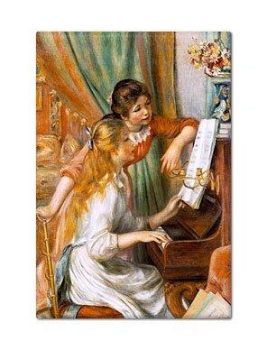 Chicas en el Piano Renoir pintura imán para nevera: Amazon.es: Hogar