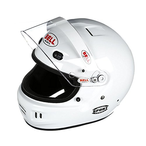Bell Racing SPORT BLACK LARGE (60) SA2015 V.15 BRUS HELMET