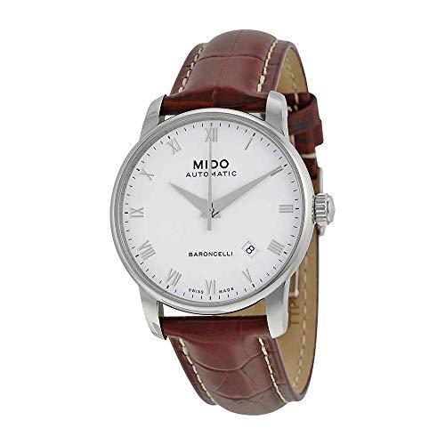 Mido Men's MIDO-M86004268 Baroncelli Analog Display Swiss Automatic Brown Watch
