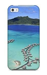 High Quality Bora Bora Case For Iphone 5c / Perfect Case