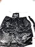 Mike Tyson Signed Autograph Boxing Trunks JSA