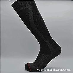 MUSAN Wool Ski Socks,Extra Warm Knee Hig...