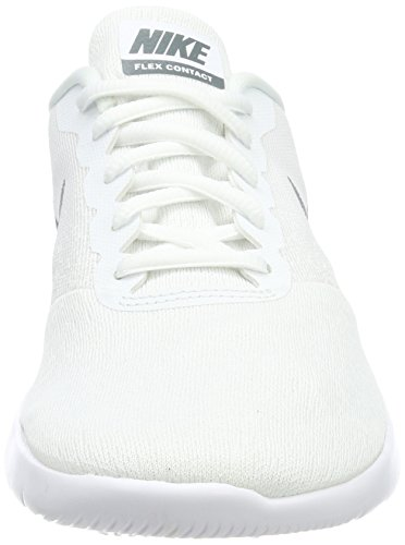 NIKE Weiß Sneaker White Grey Contact Cool Herren Flex aqOTar