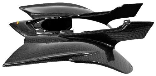 Maier Rear Fender Polypropylene for Yamaha YFZ-450 04-09