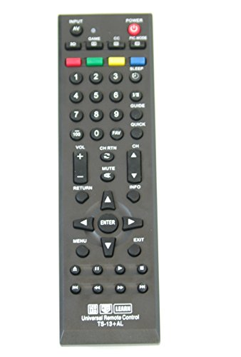 New Toshiba Universal Remote Control for All Toshiba BRAND TV, Smart TV - 1 Year Warranty(TS-13+AL)