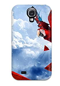 Jonathan Litt's Shop Slim Fit Tpu Protector Shock Absorbent Bumper Parrot Blue Sky Case For Galaxy S4 9002228K18528714
