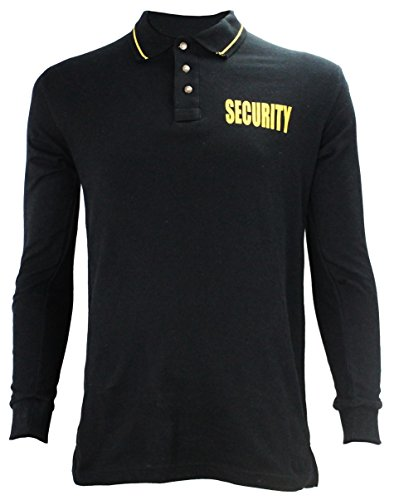 First Class Poly Cotton Long Sleeve Security Polo Shirt