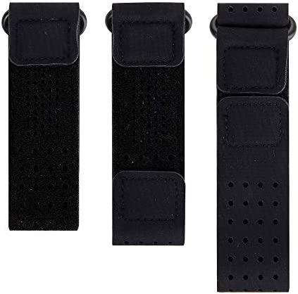 EEweca 3-Pack Bands for Fitbit Inspire or Inspire HR (Wristband+Armband+Ankle Band) Black / EEweca 3-Pack Bands for Fitbit Inspire or Inspire HR (Wristband+Armband+Ankle Band) Black