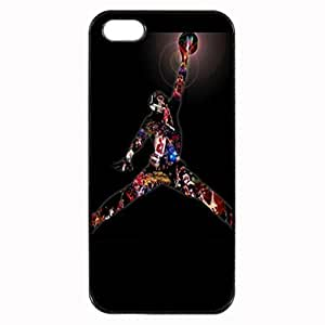 diy zhengBlack, Ipod Touch 5 5th Rubber Case - Michael Jordan Womens Photo Design Durable Rubber Tpu Silicone Case Cover For Ipod Touch 5 5th