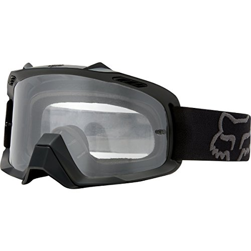 Fox Racing Air Space Adult MX Motorcycle Goggles Eyewear - Matte Black / One Size