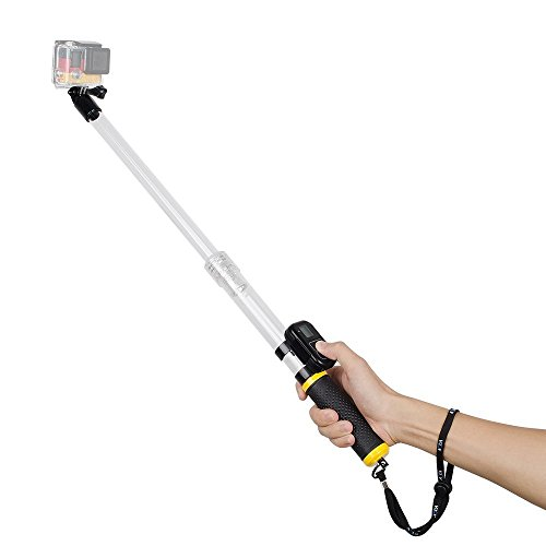 free shipping nlsd adjustable aluminium telescopic monopod pole handheld extendable selfie. Black Bedroom Furniture Sets. Home Design Ideas