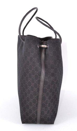 026f92e4b22 Gucci Large Monogram Logo Brown Gifford Jacquard Tote Shopper Bag ...
