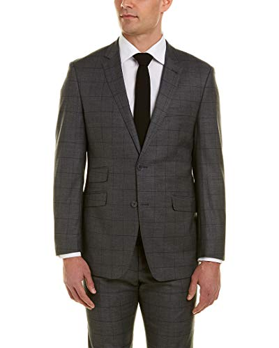 English Laundry Mens Suit with Flat Front Pant, 40R ()