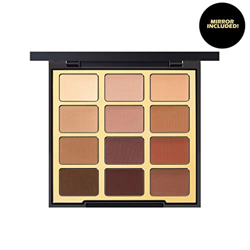 Milani Most Loved Mattes Eyeshadow Palette (0.48 Ounce) 12 Cruelty-Free Matte Eyeshadow Colors for Long-Lasting Wear