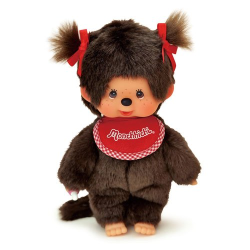 Sekiguchi Monchhichi Premium Standard Brown Girl Twin Tail