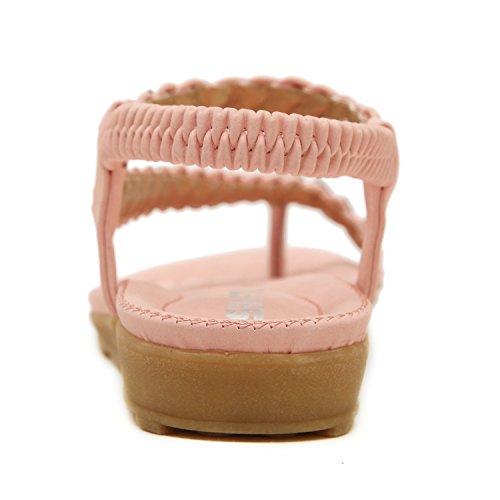 Sangle Dqq Perles Sandal Femmes Cheville 1 String De xIUwInqr