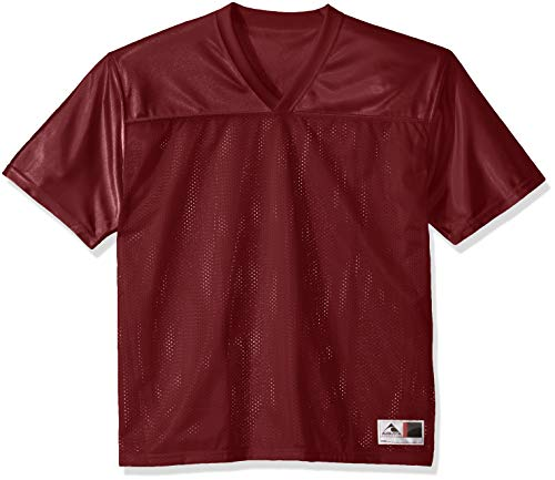 Augusta Sportswear Men's Augusta Stadium Replica Jersey, Maroon, XX-Large (Frauen In Augusta)