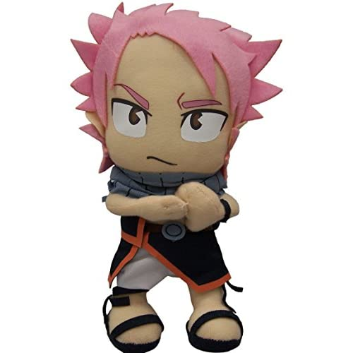 """Great Eastern GE-6969 Animation Official Fairy Tail Anime Natsu Dragneel 8"""" Plush"""