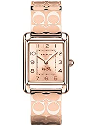 Women's Page Bangle Watch Rosegold/Rosegold Plated One Size