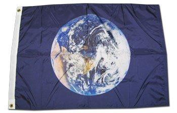 Earth - 3 ft x 5 ft Nylon Flag