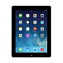 Apple iPad 2 MC769LL/A Tablet 16GB, WiFi, Black (Refurbished)