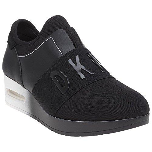 Baskets Mode Arnold Slip Wedge Noir on DKNY Femme qwB67vwX