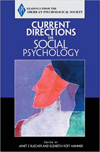Amazon fr - Current Directions in Social Psychology - (APS