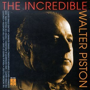 (The Incredible Walter Piston [IMPORT] (1998-09-10))