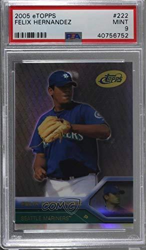 Amazoncom Felix Hernandez Graded Psa 9 Mint Baseball Card