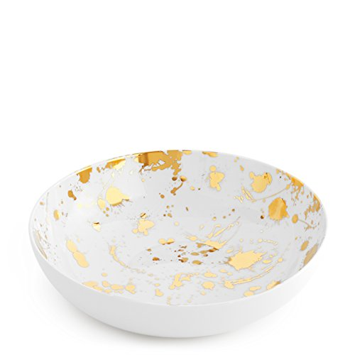Gold Coupe Dinner Plate - 7
